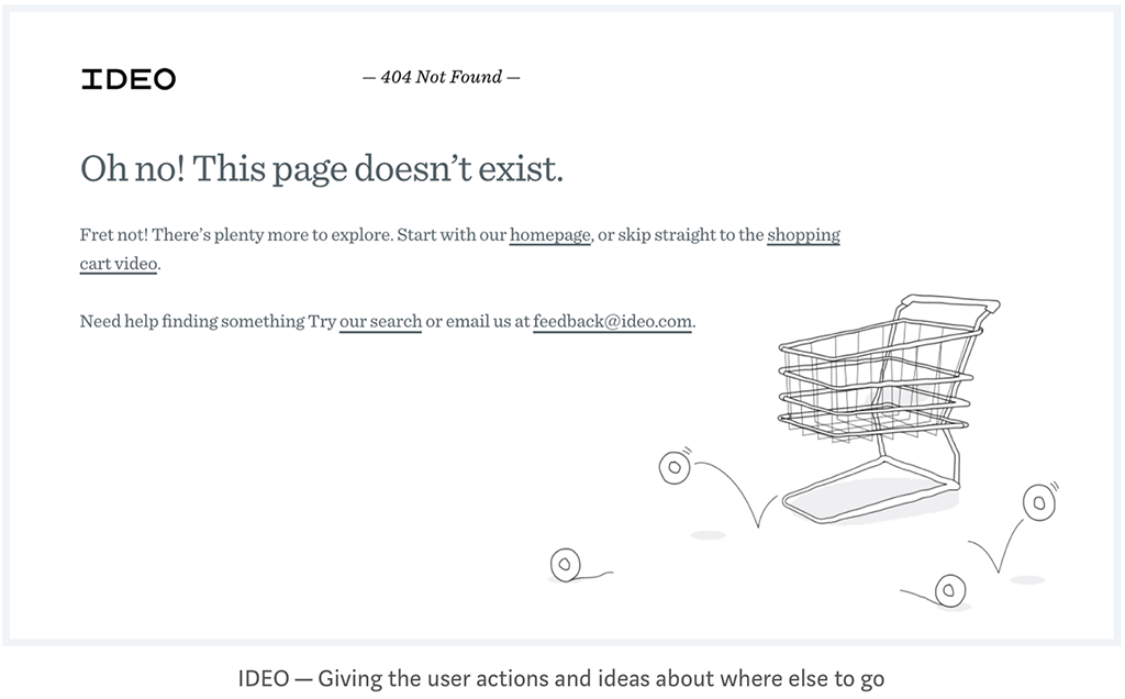 A UX Guide For Designing Error Pages
